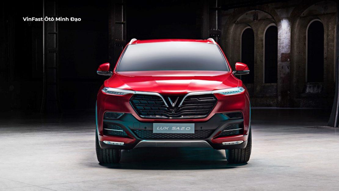 thiết kế đầu xe VinFast Lux SA2.0